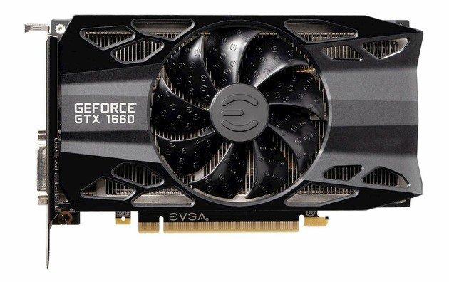 Nvida Geforce GTX 1660 GPU gráfica