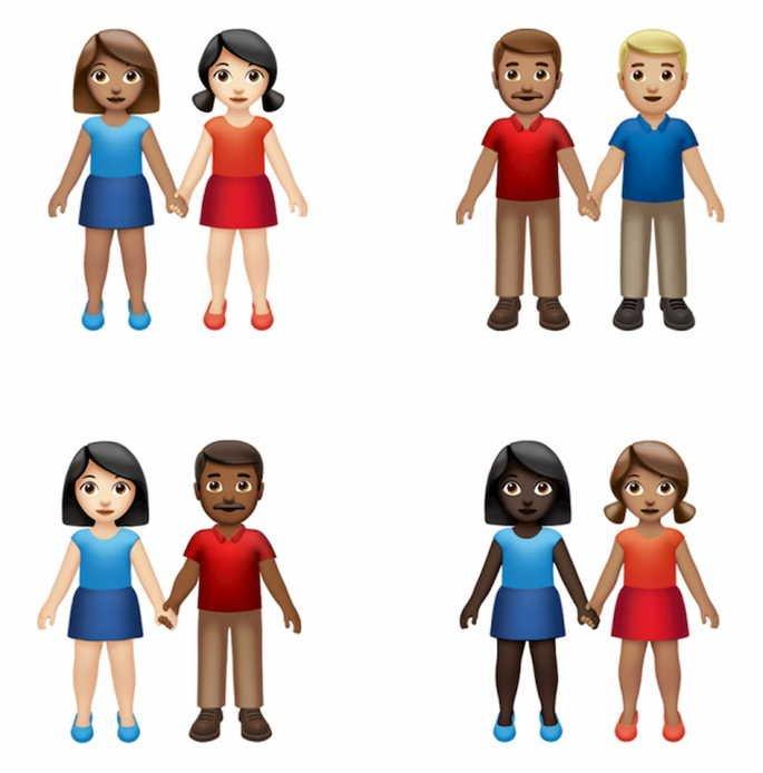 emojis mãos