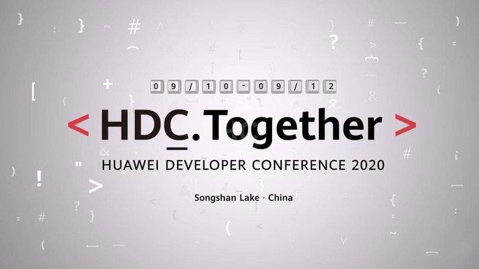 HDC 2020 Huawei HarmonyOS