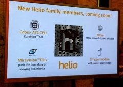 MediaTek apresenta Helio X20, o primeiro Deca-core para Smartphone