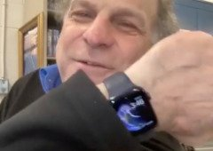 Homem cai no gelo e é salvo graças ao Apple Watch