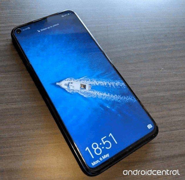 Huawei Honor 20 Pro ecrã