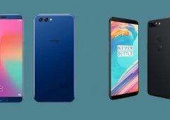Huawei Honor V10 vs OnePlus 5T - Qual o melhor smartphone para ti?