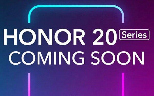Huawei Honor 20 apresentação