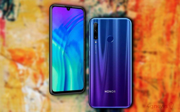 Honor 20 Lite oficial