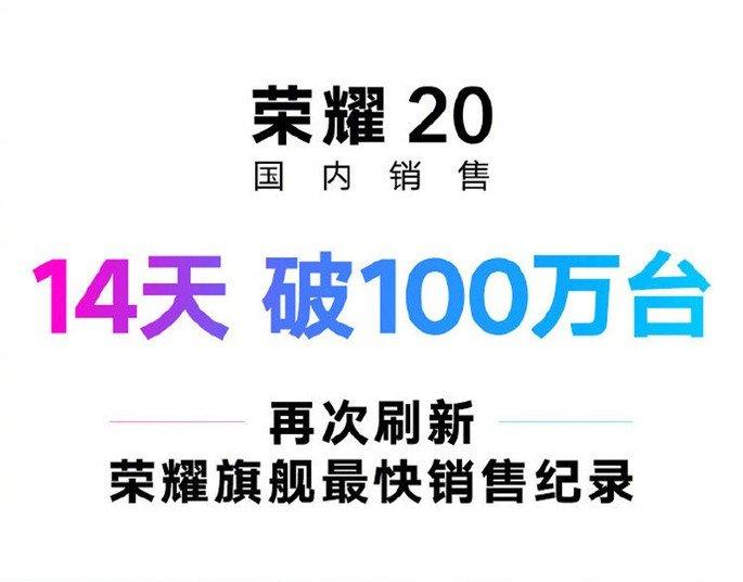 Honor 20 vendas china