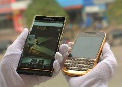 Quanto estarias disposto a pagar por um BlackBerry Priv banhado a ouro 24K?
