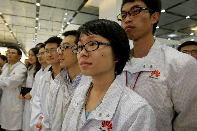 Huawei funcionários