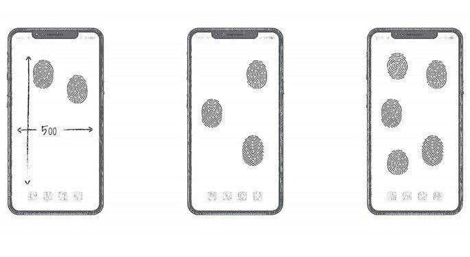 Huawei fngerprint