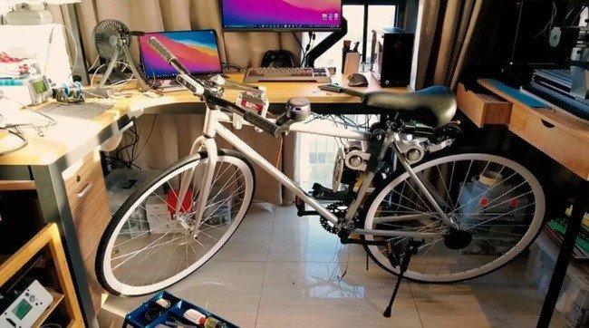 Huawei Bicicleta elétrica autónoma