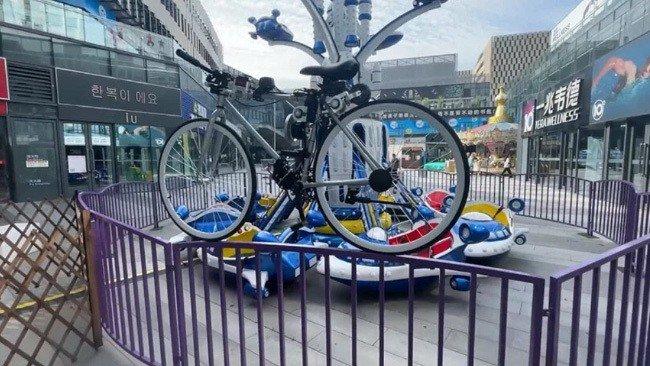 Huawei bicicleta elétrica