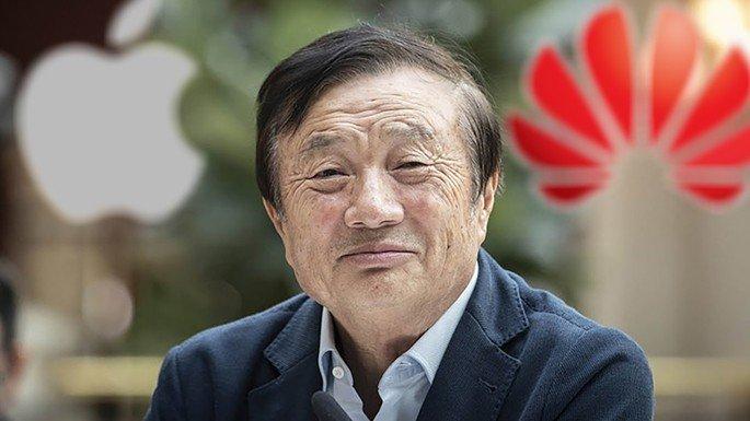 Huawei CEO falar Apple