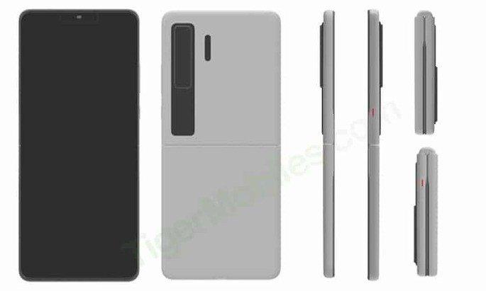 Huawei Patente Samsung Galaxy Z Flip