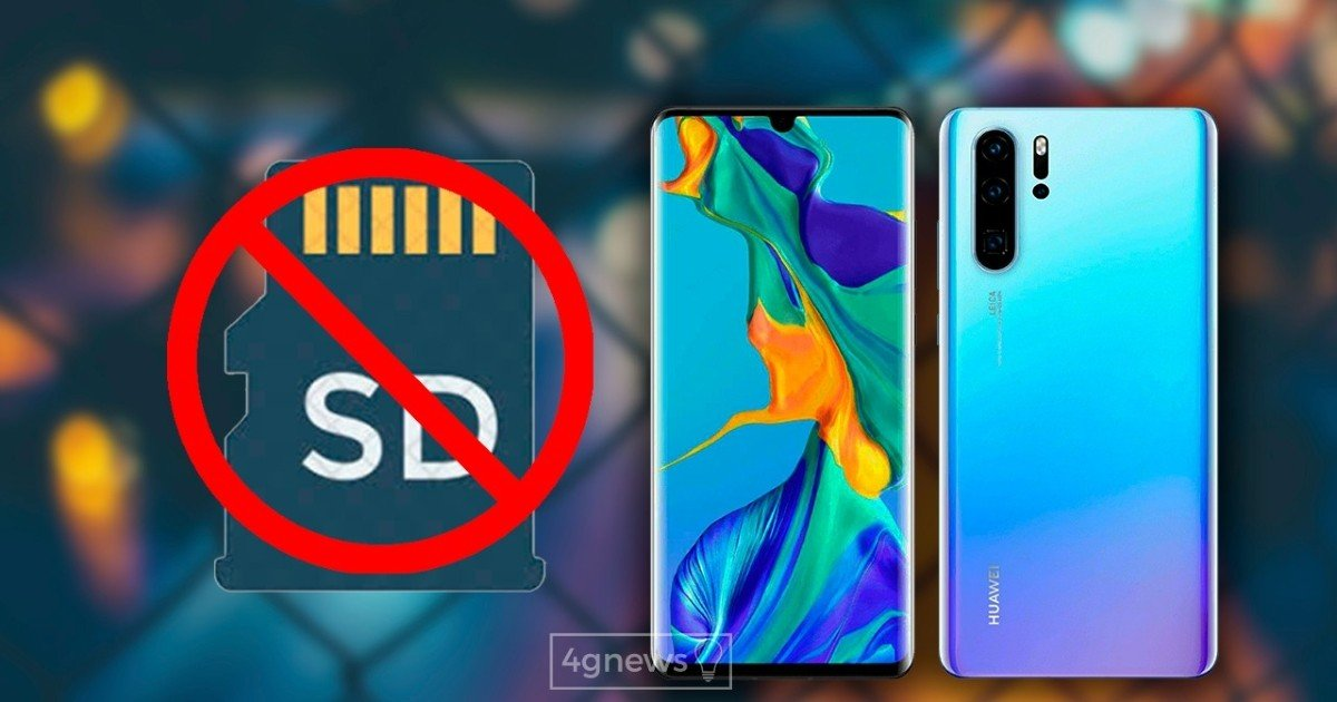 Huawei is removed from the list of SD memory card mappings
