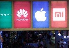 Huawei em queda. Xiaomi e Oppo cada vez mais próximas da Apple