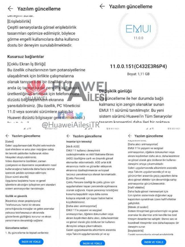 EMUI 11 Huawei