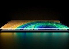 Huawei explica como o Mate 30 Pro ignora os toques fantasma no seu 'ecrã cascata'