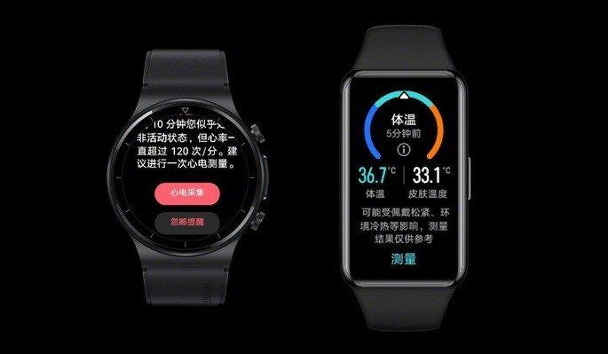 Huawei Band 6 Pro Watch GT 2 Pro ECG