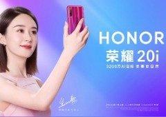Huawei Honor 20i ainda não foi apresentado, mas já pode ser encomendado!