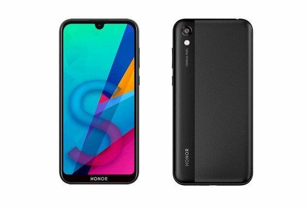 Huawei Honor 8S frente e trás