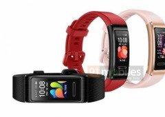 Huawei Honor Band 4 Pro é a próxima concorrente à Xiaomi Mi Band 4