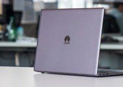 Huawei interrompe o desenvolvimento de novos computadores
