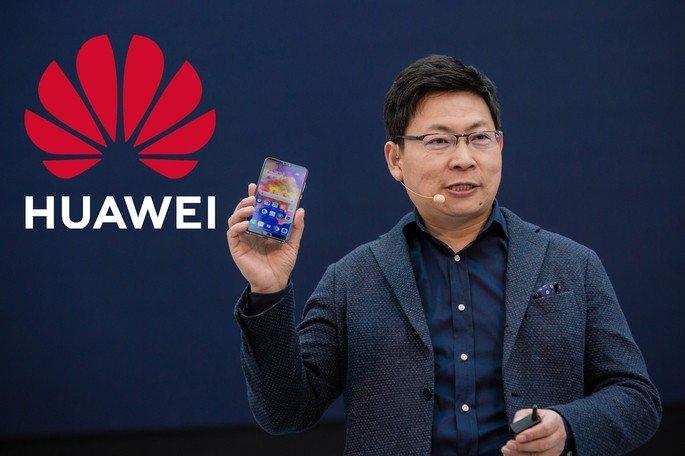Huawei Richard Yu sobre os serviços Google nos seus smartphones