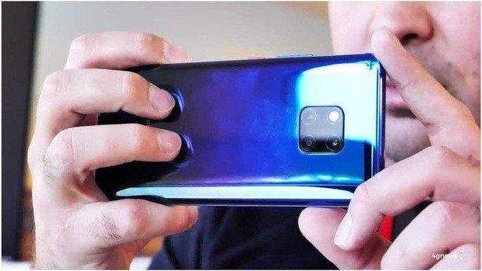 Huawei Mate 20 Pro smartphones câmara