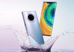 """Huawei Mate 30 Pro é oficial com um """"ecrã cascata"""" e sem serviços Google"""