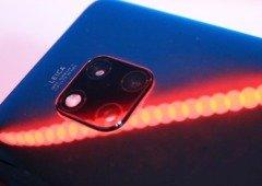 Huawei Mate 40 Pro pode ter ecrã tátil traseiro