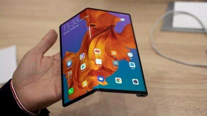 smartphone dobrável LG idêntico ao Huawei Mate X