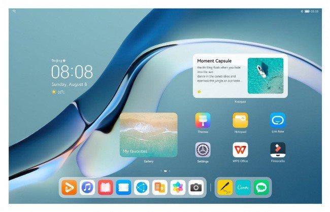 Huawei MatePad Harmony OS