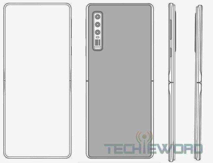 Huawei Patente copia Motorola Razr 2019