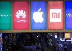 Huawei nem na China consegue dominar! Rivais surpreendem e ficam com a prata e ouro