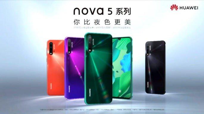Família Nova 5 e as suas cores