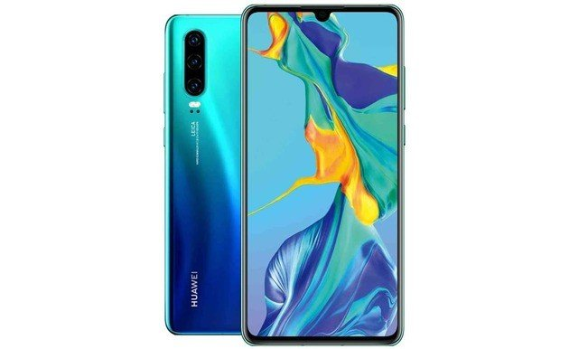 Huawei P30 especificações