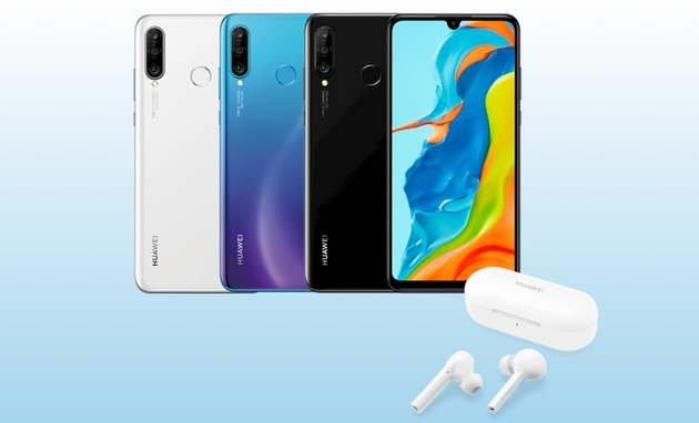 Huawei P30 Lite FreeBuds Lite