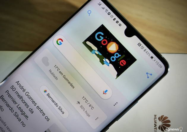Huawei P30 Pro com Google Discover