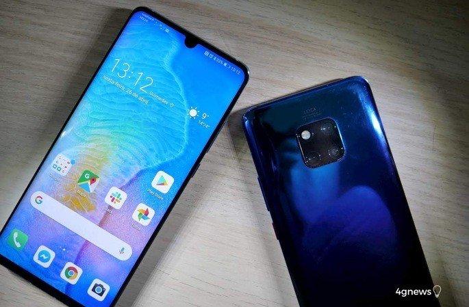 Huawei smartphone 70 Aplicações
