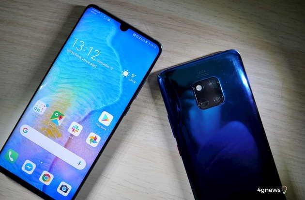 Huawei P30 Pro e Mate 20 Pro