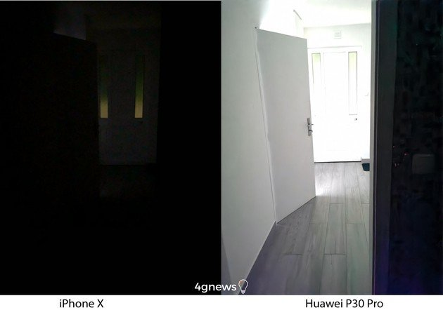 Huawei P30 Pro vs iPhone X