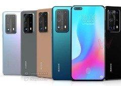 Huawei P40: capas de proteção confirmam design dos novos smartphones