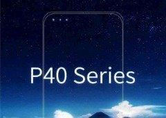 Huawei P40 com 3 câmaras frontais? Este cartaz diz que sim