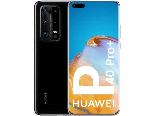 Huawei P40 Pro+ em preto