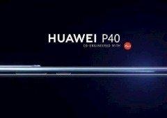 Huawei P40 Pro. Este pode ser o seu design traseiro com cinco câmaras