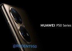 Huawei P50: novos renders colocam em destaque a sua câmara