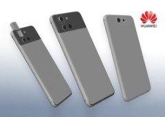 Huawei poderá lançar smartphone com câmara rotativa. Mas o design não convence!