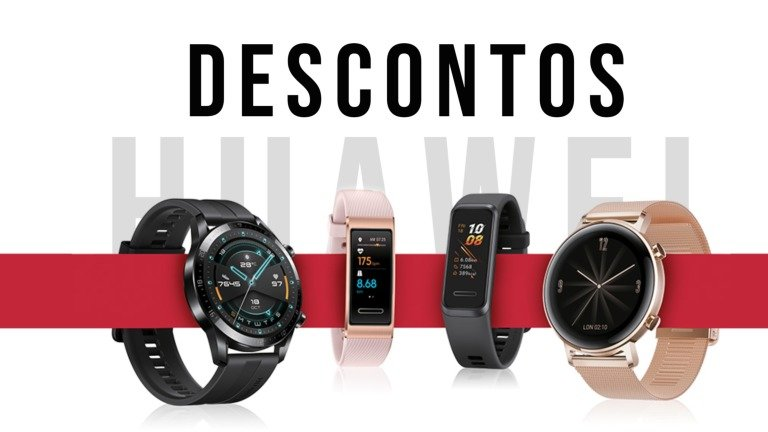 Huawei tem promoções incríveis na Wearables Week!