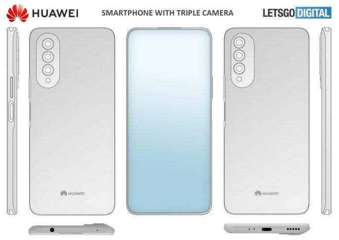 Esta é a ideia da Huawei para um smartphone com câmara debaixo do ecrã