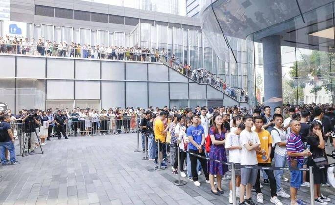 Loja Huawei em Shenzhen